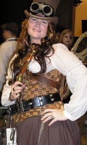 Steam Punk costume at Dragon*Con