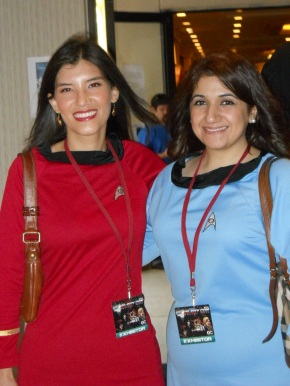 Guest Post: The Voyager Crew Beams Down to Space City by MaeveAlpin