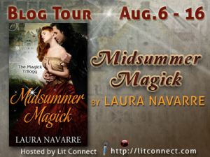 Midsummer Magick Blog Tour Badge