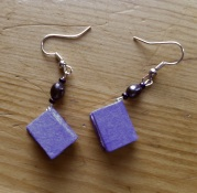 purple earrings Smart Girls