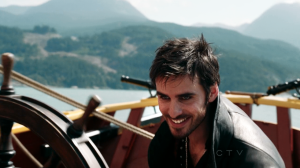 Colin O'Donoghue as Captain Hook on Once Upon A Time S02E04 Crocodile 10