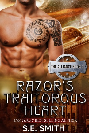 Lovers of strong female characters take note: Razor's Traitorous Heart by S. E. Smith