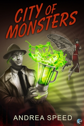 City of Monsters: a tour and a contest and a haunted gay blender!