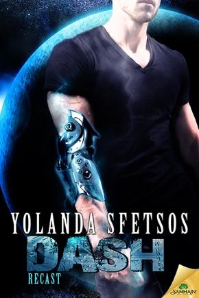 Cover Reveal: Dash a RECAST novel by YolandaSfetsos