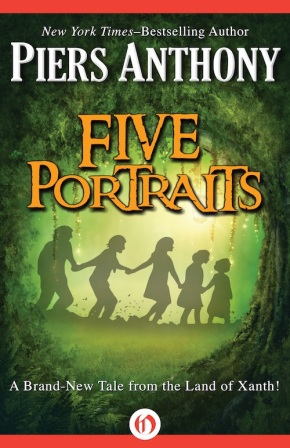 ARC Review: Five Portaits by PiersAnthony