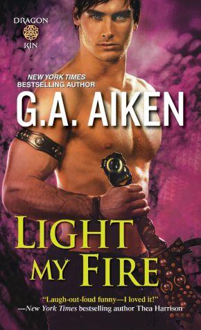 G.A. Aiken's Dragons return in LIGHT MYFIRE