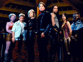 Cast of Andromeda.