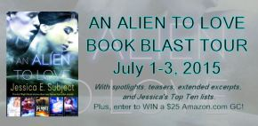 Celebrating An Alien to Love Release Day with Jessica E. Subject