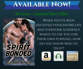 New Release Celebration: Spirit Bonded By AshlynnMonore